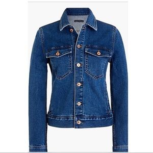 🆕NWT super Jcrew women's denim jacket